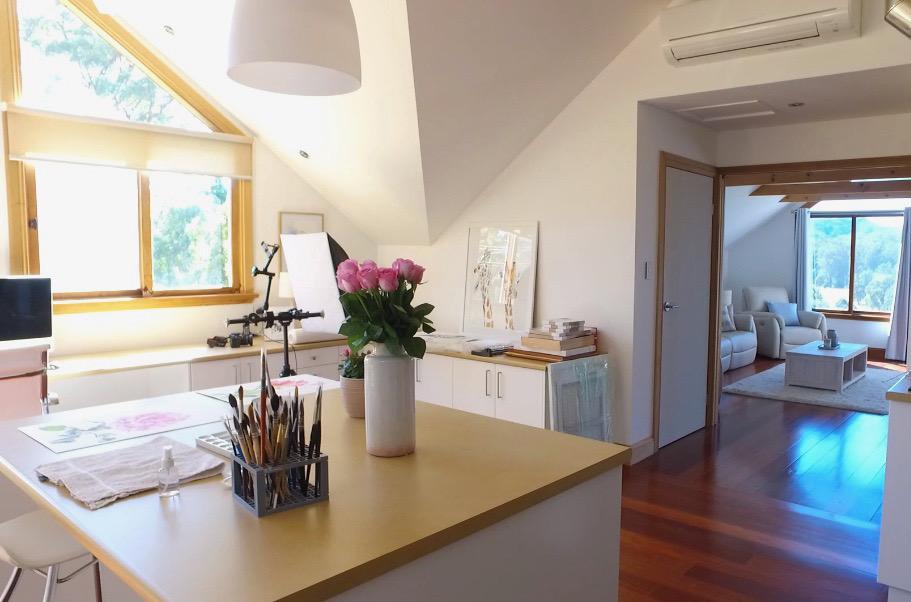 My office/studio in Coffs Harbour.