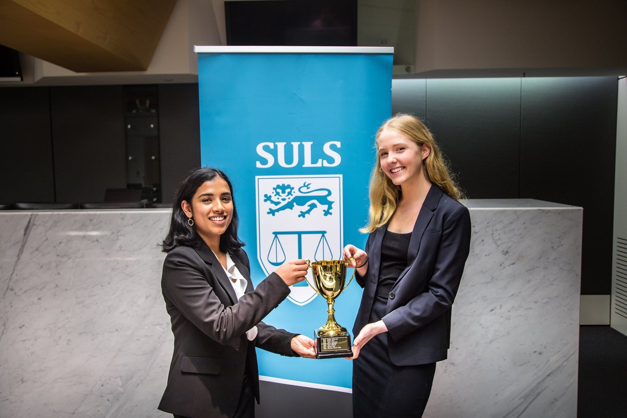 Winner and Runner Up of the Streetons Criminal Law Moot 2019.