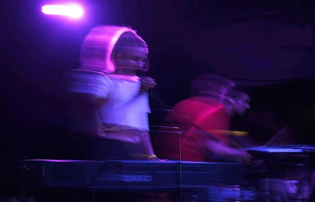 thursday was a blur // shot by @dillonion . . . . #music #photography #nightlife #theecho #echopark #livemusic #losangeles #musicscene #thingstodo #live #concert #indie #pop #popshop #photograph #casio #novation #roland