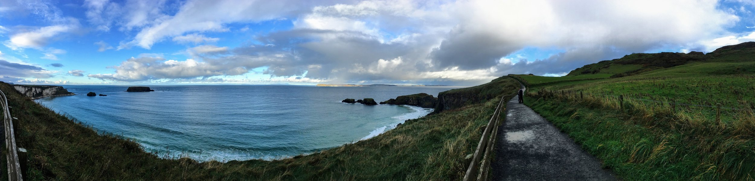 Carrick -a- Rede panoramic (i)