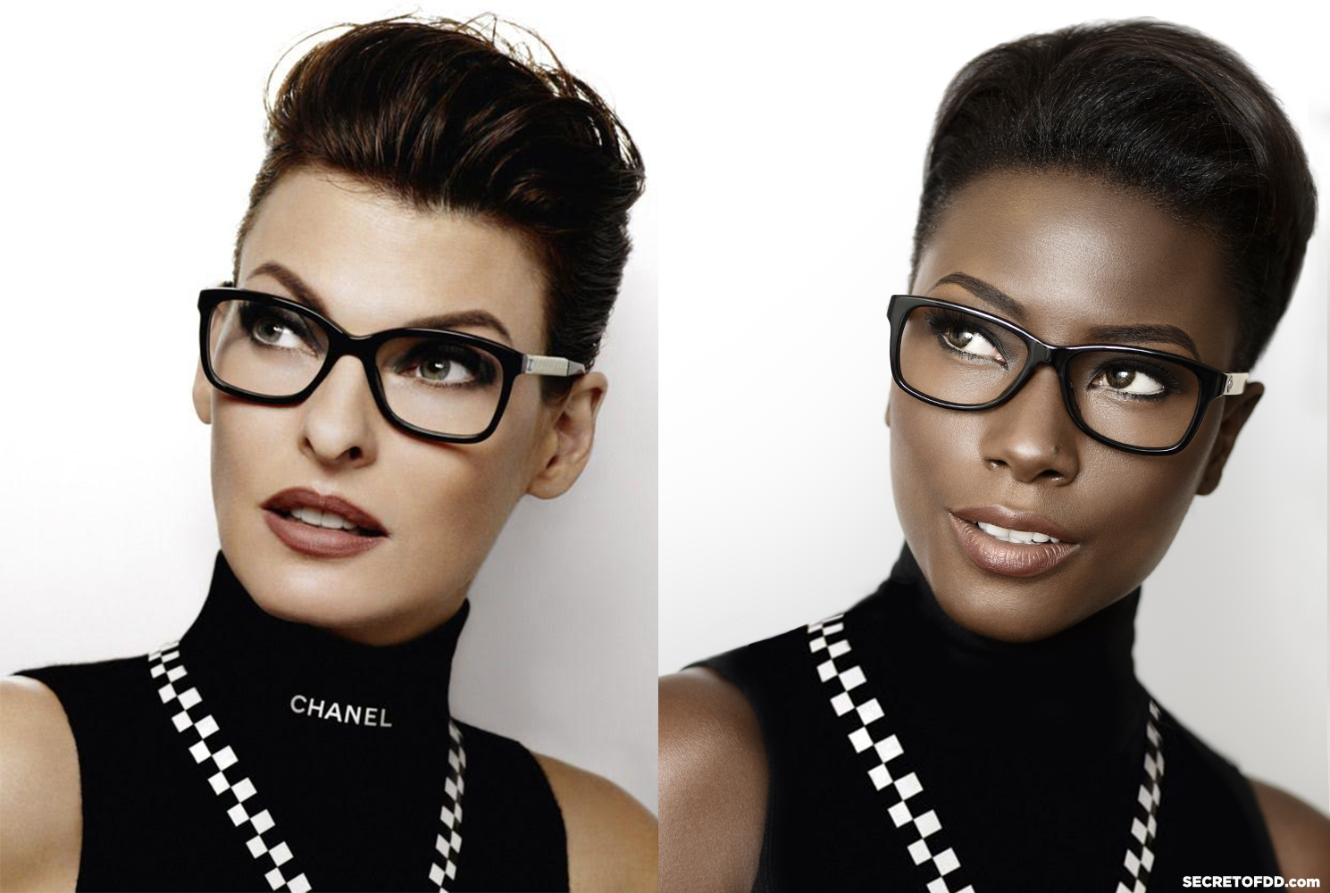 Linda Evangelsita (L) / Deddeh Howard (R) – Chanel