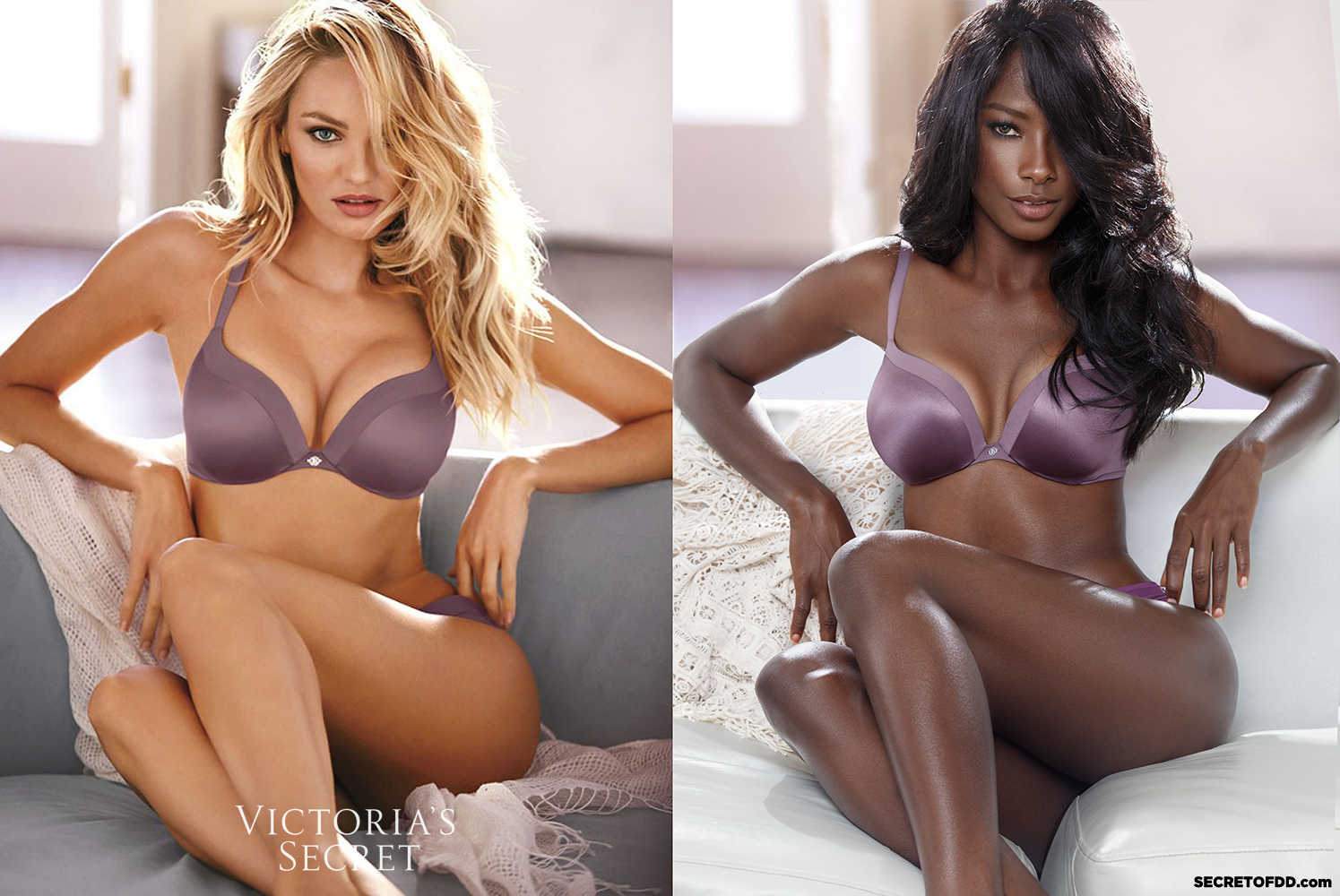 Candice Swanepoel (L) / Deddeh Howard (R) - Victoria's Secret