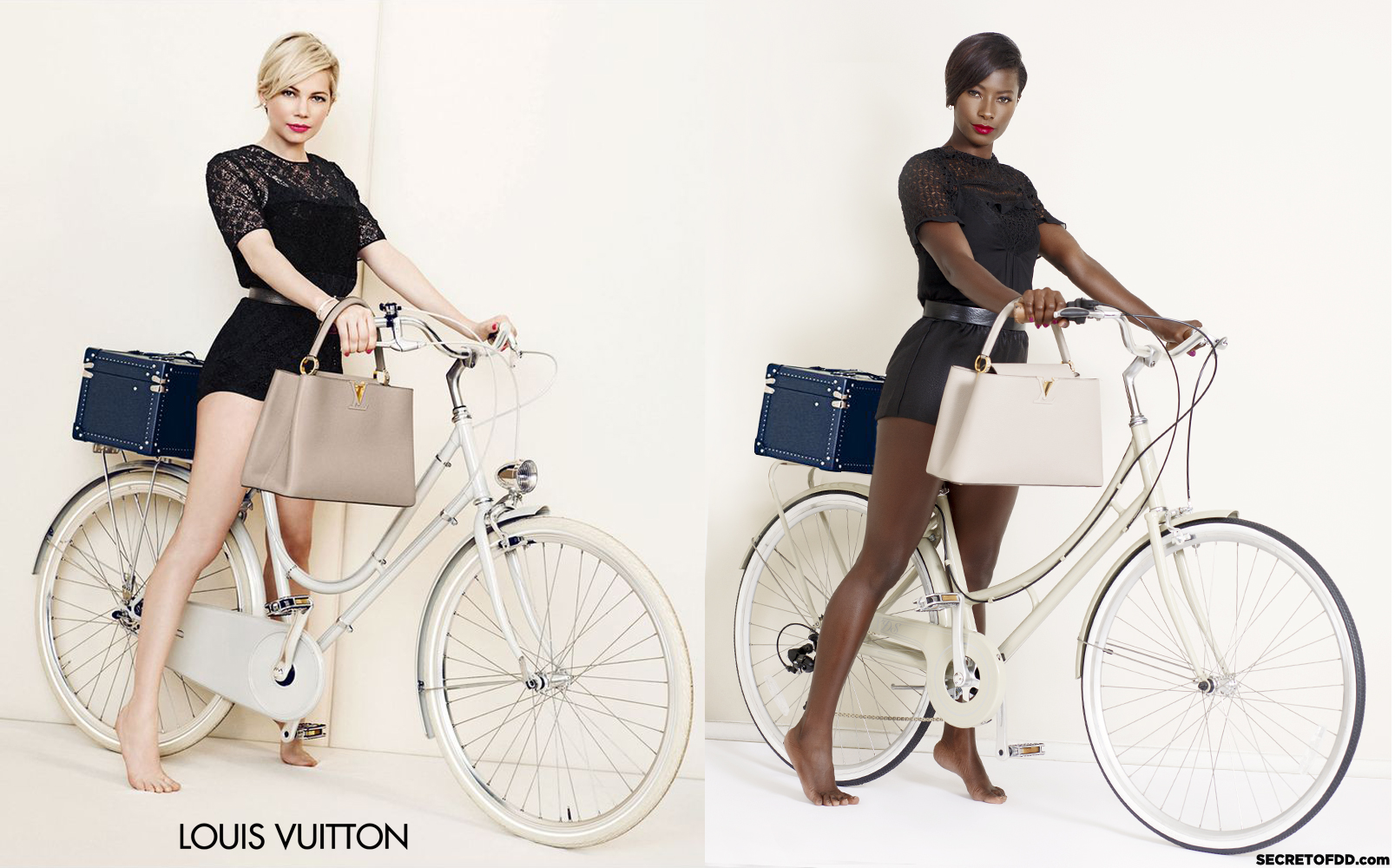 Michelle Williams (L) / Deddeh Howard (R) - Louis Vuitton