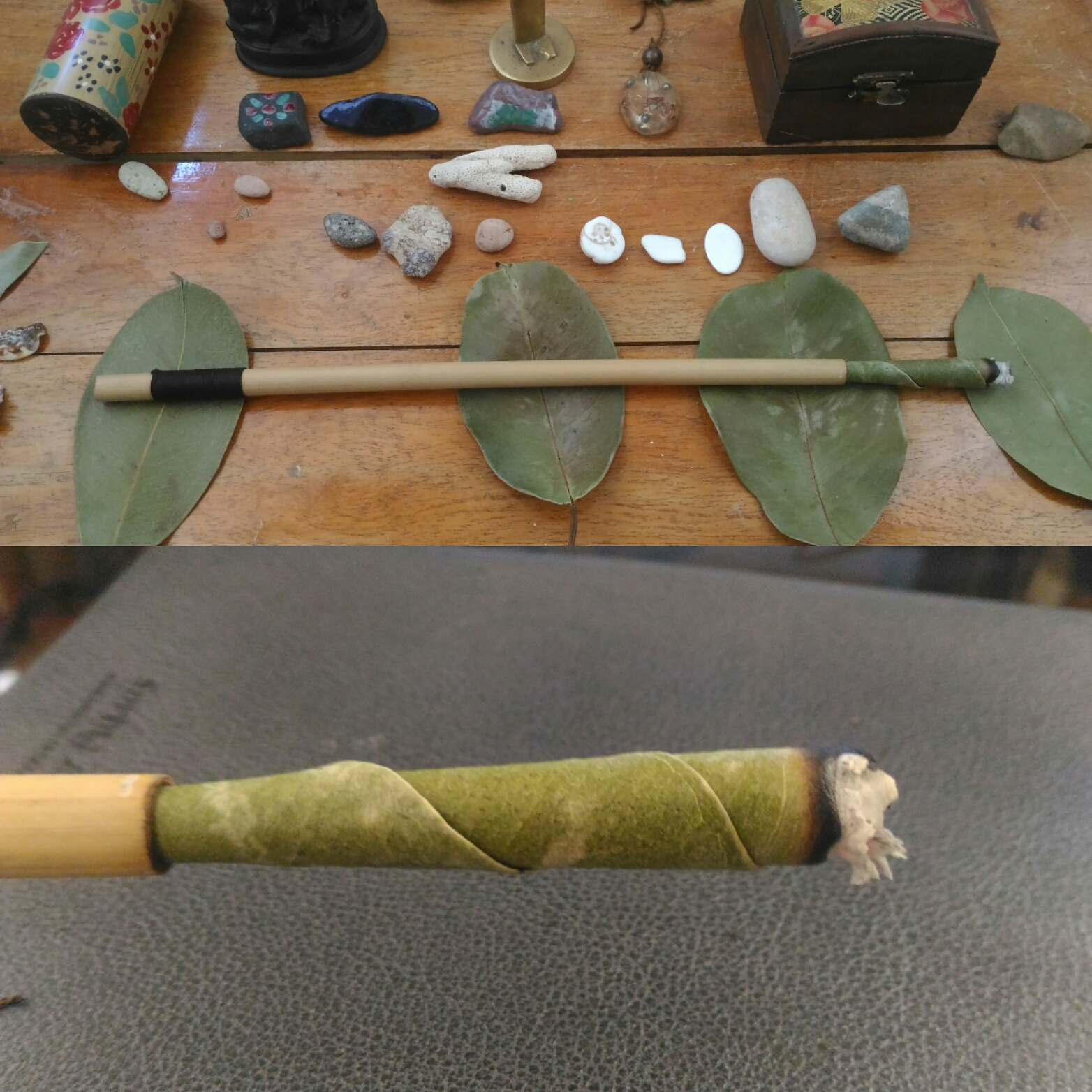 Jungle Cone with Bamboo Tip