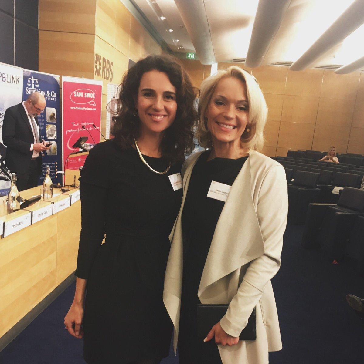 Delighted to speak at PBLink Congress 2016 alongside BBC World News Presenter, Kasia Madera