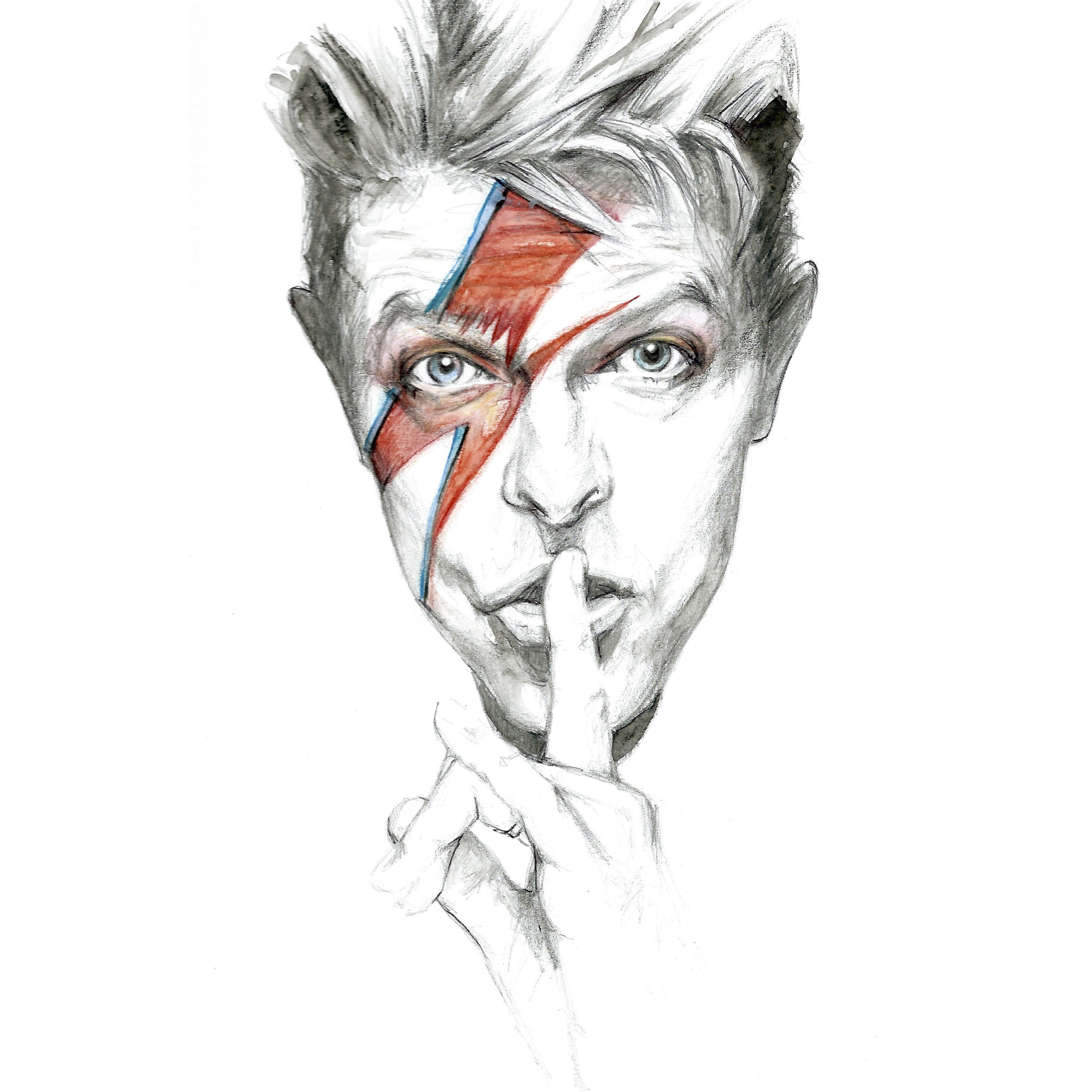 David Bowie - Signed Print