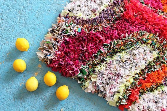 Rag rug by Elspeth Jackson