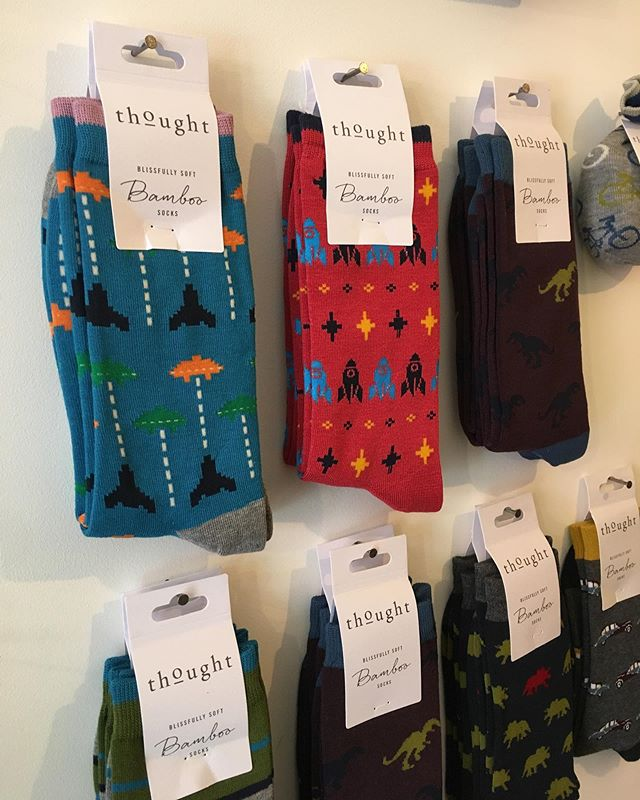 We have a few new designs of bamboo socks by Thought in-store at the moment! For the retro game lovers 🕹 who recognises the games featured? Available online tomorrow! Keep your feet comfy while looking cool 😁 #uncaptive #ethicalrevolution #shopstack . . . . . #ethicalfashion #consciousfashionblogger #vegansofig #consciousfashion #minimalism #veganlifestyle #ethicalfashionblogger #consciousvegan #houseplants #gaming #ethicalfashion #stacknewcastle #gamer #retro #retrogamer #vegansofinstagram #retrogame #ethicalconsumer #vegansofuk #gameslover #minimalistfashion #sustainablefashion #ethicallymade #sustainableliving #veganblogger #veganbrand #ethicalisthenewblack via @preview.app