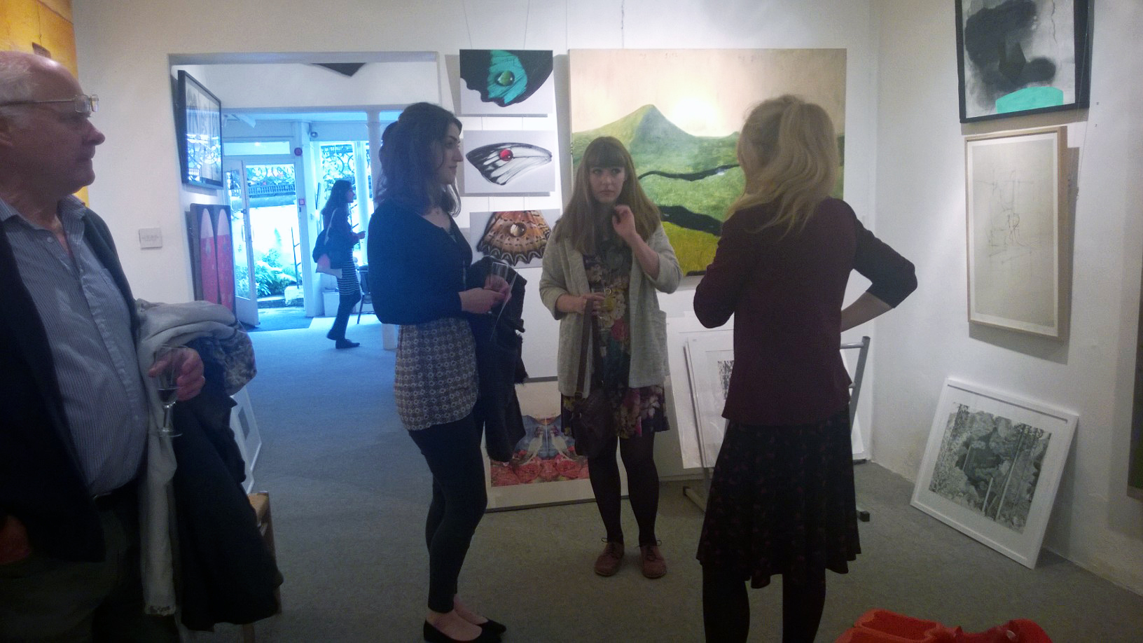 A peek at the show and some of the artists involved!