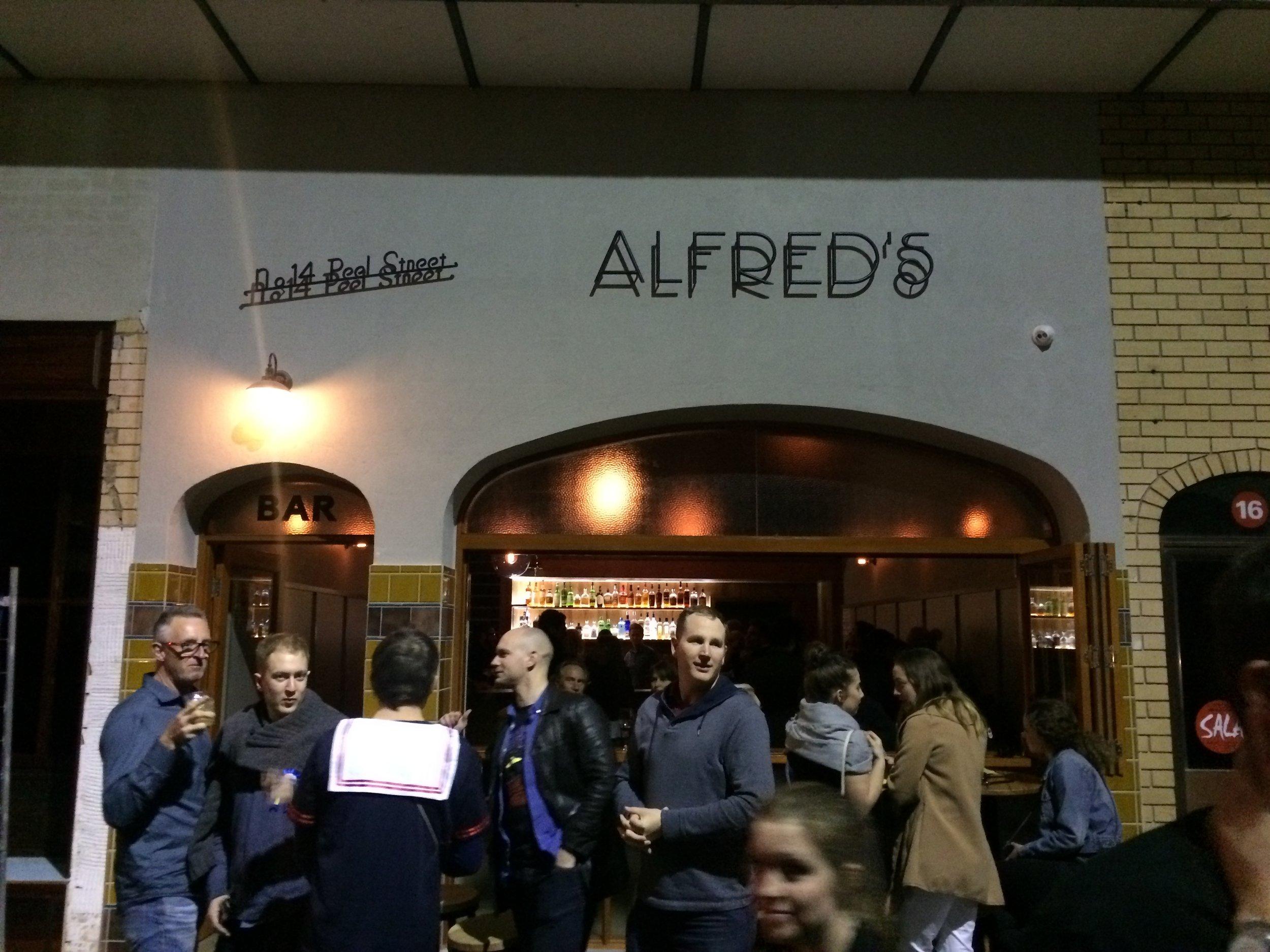 Alfred's on Peel