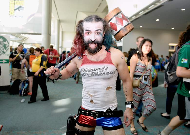 Of course, you're a casual gender-bent Harley Quinn. Duh.