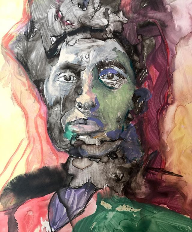 #painter #photo#drawings #watercolor #watercolorpainting #drawingaday #portraits #faces#artist #gallery