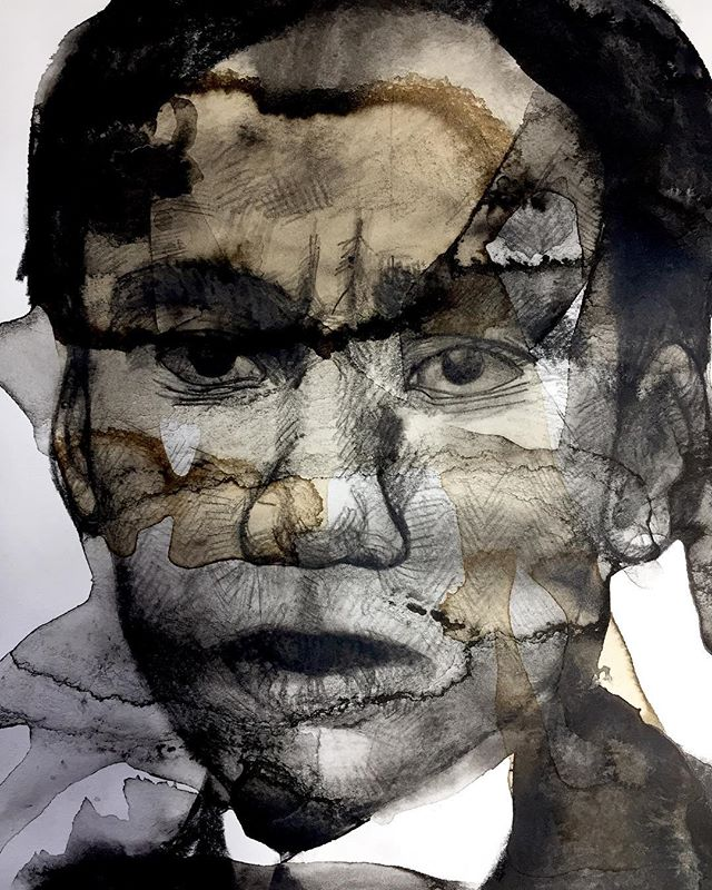 Can you guess who this is? Stop by the Soho Photo Gallery to find out! . . . . . #painting #photography #art #artist #photography #paint #mixedmedia #photoshop #soho #sohoart #nyc #nycart #gallery #nycgallery #aipad