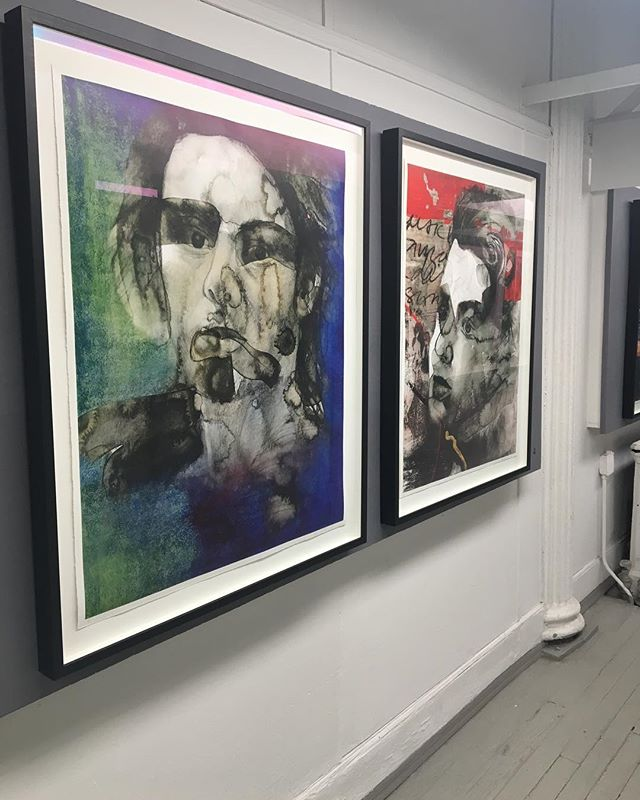 My show is ending this Sunday! If you still haven't stopped by, please do, and let me know what you think! . . . . . #artist #artistsoninstagram #photography #mixedmedia #photoshop #painting #paint #soho #sohoart #sohonyc #nyc #nycart