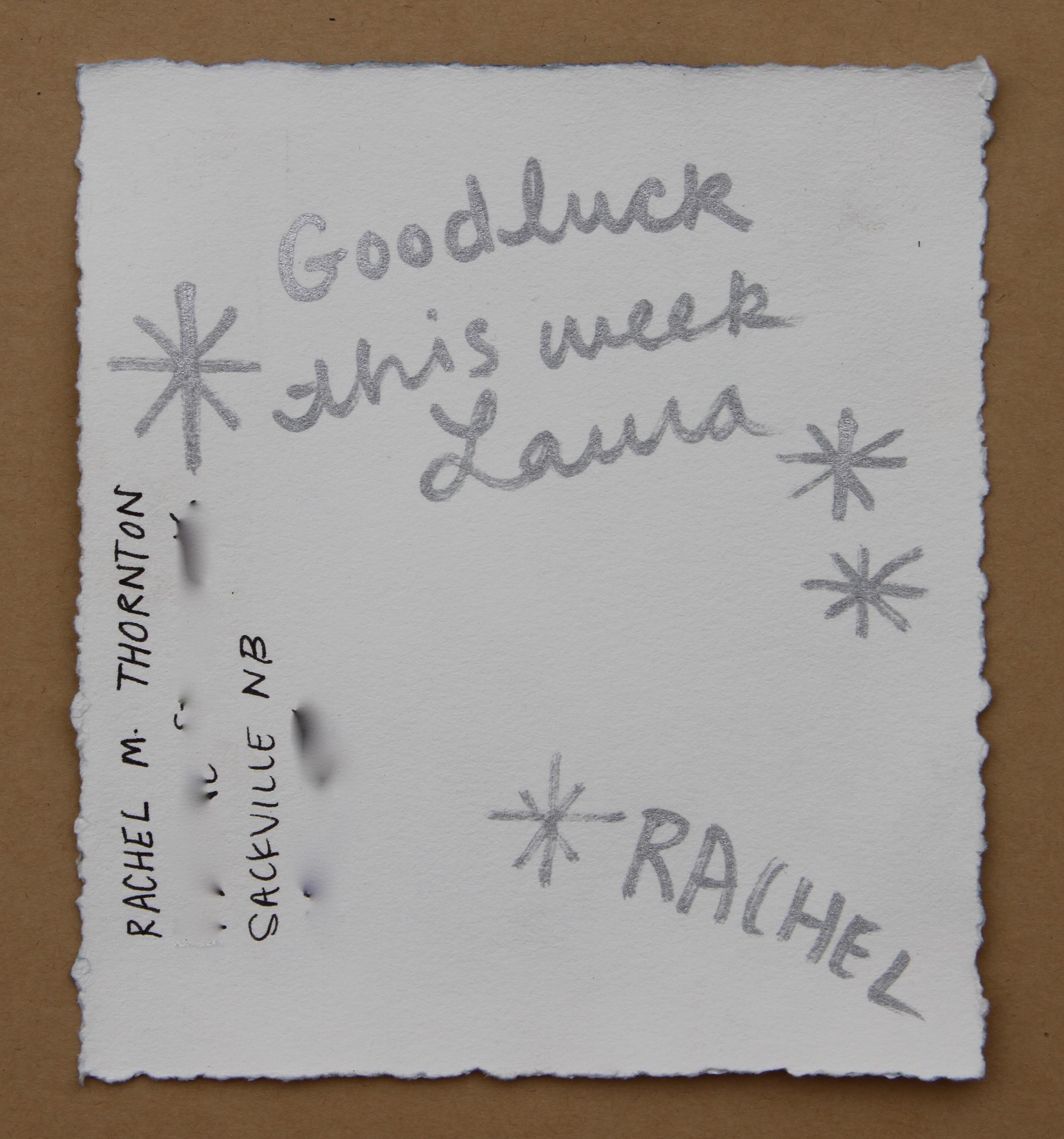 From Rachel