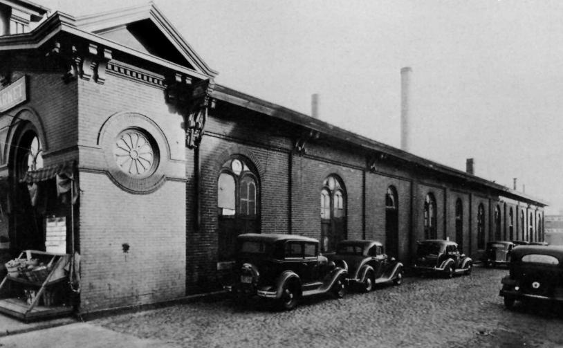 Market House circa 1937.  NPS  photo