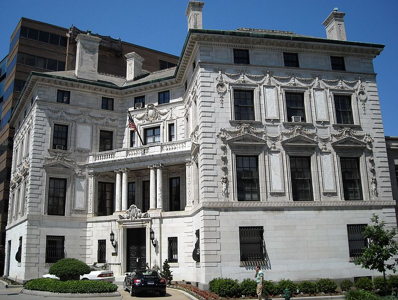 The Patterson Mansion.  wikimedia  photo