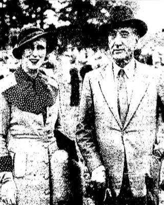 GHAFFER DJALAL AND HIS WIFE.WASHINGTON POST PHOTO