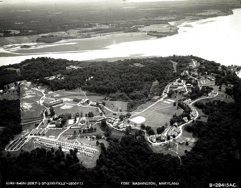 Expanded facilities in 1937.  National Park Service  photo