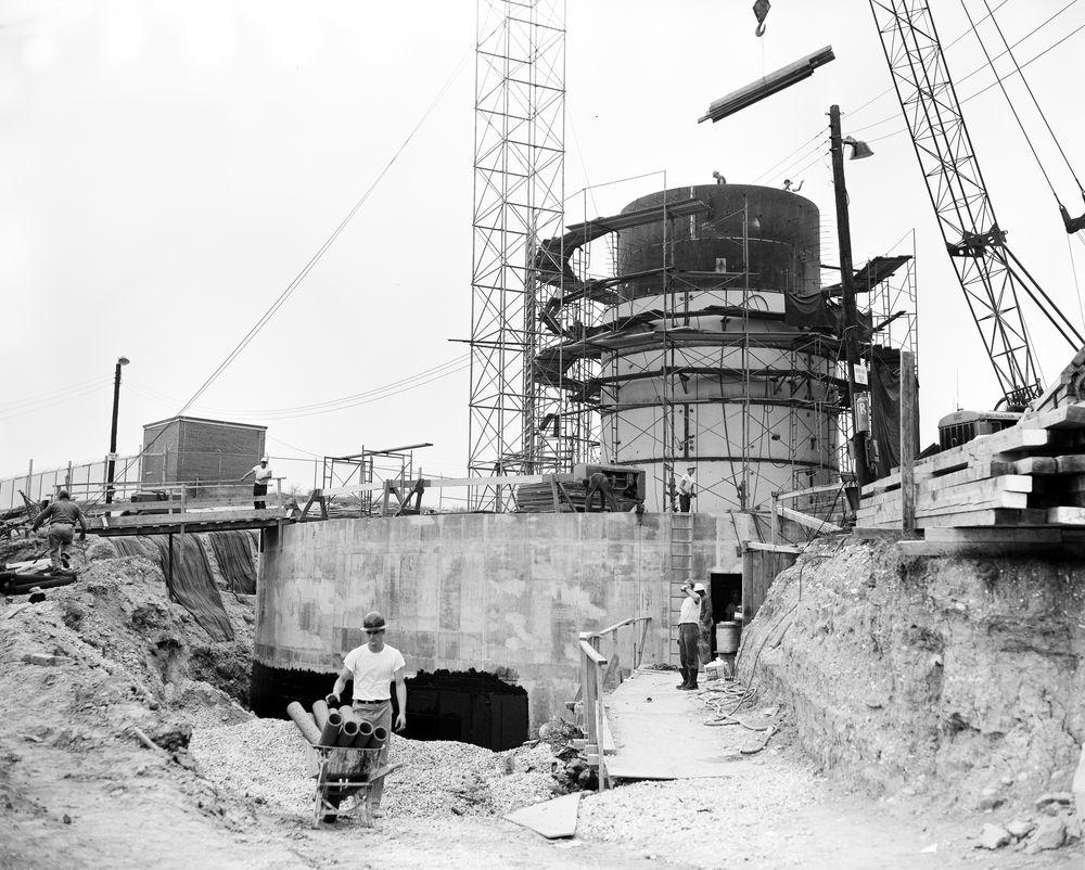 View of the Cartwheel bunker in September, 1961.  JFK Presidential LIbrary  photo