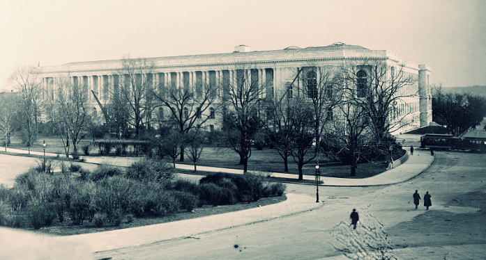 CANNON HOUSE OFFICE BUILDING, CIRCA 1908.  LIBRARY OF CONGRESS  PHOTO