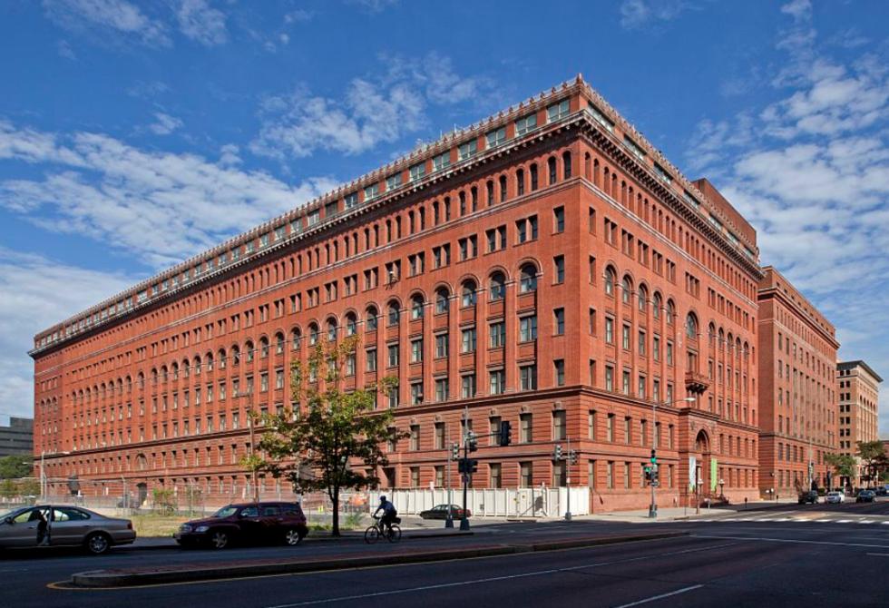 GPO building circa 2013.  Library of Congress  image