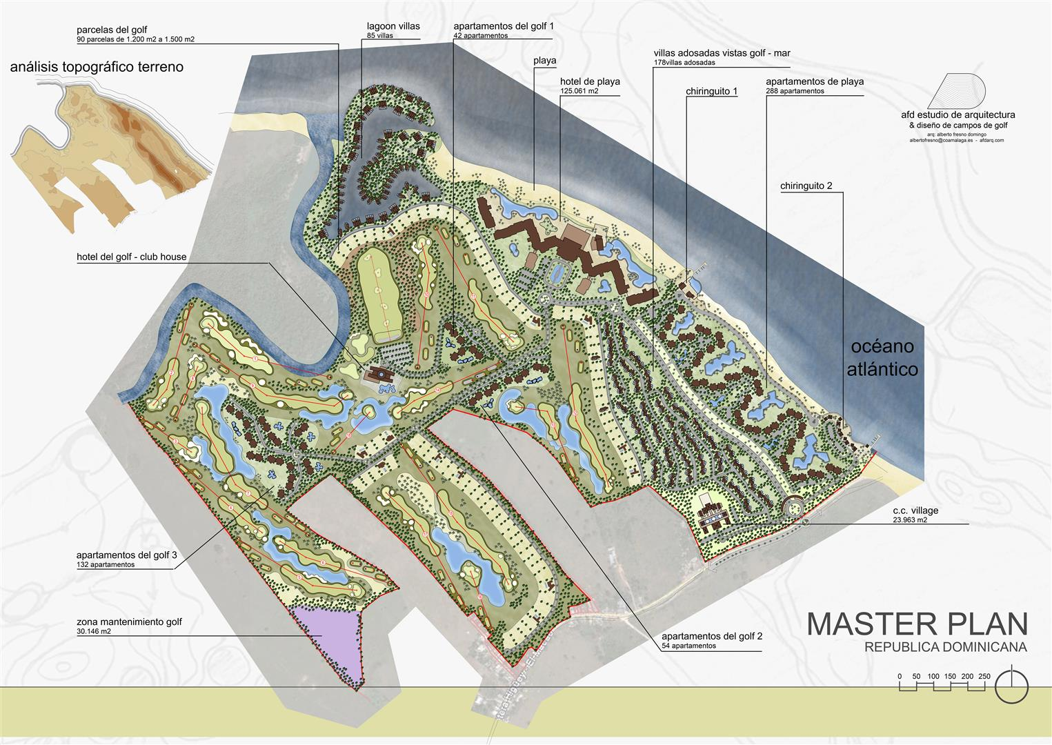 2016 MASTER PLAN REPUBLICA DOMINICANA