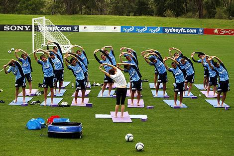 Supplement your team practice with Yoga!  Check out  6 Benefits of Yoga for Athletes .