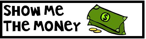Materials: Spelling Words, Electronic Timer, Show Me The Money Template, Money template that is included