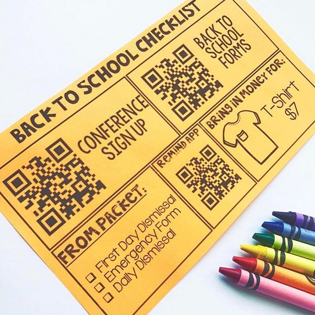 Almost paperless back to school forms! A couple years ago I started utilizing google forms, sign up genius, and QR codes to collect back to school information. No more papers getting lost in the shuffle to and from school. If you are interested in this editable template it is free in my TPT store. I'll put the link in my bio. I've also written a blog post to help you get started- it will be in my stories!👍🏻