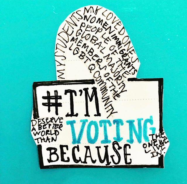 I'm voting this November. Are you? #teachersvote