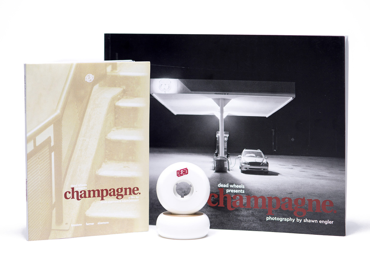 champagne dead inline skate