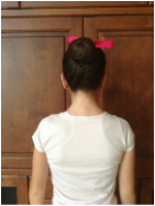 6. Finished! This bun is perfect for class, an audition, and even a performance. Have fun hair styling, ballerinas!