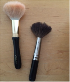 1. First start by inspecting your brushes.