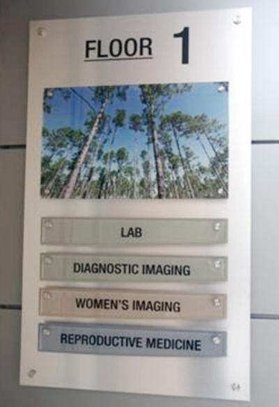 We can produce wayfinding plans for your hospital