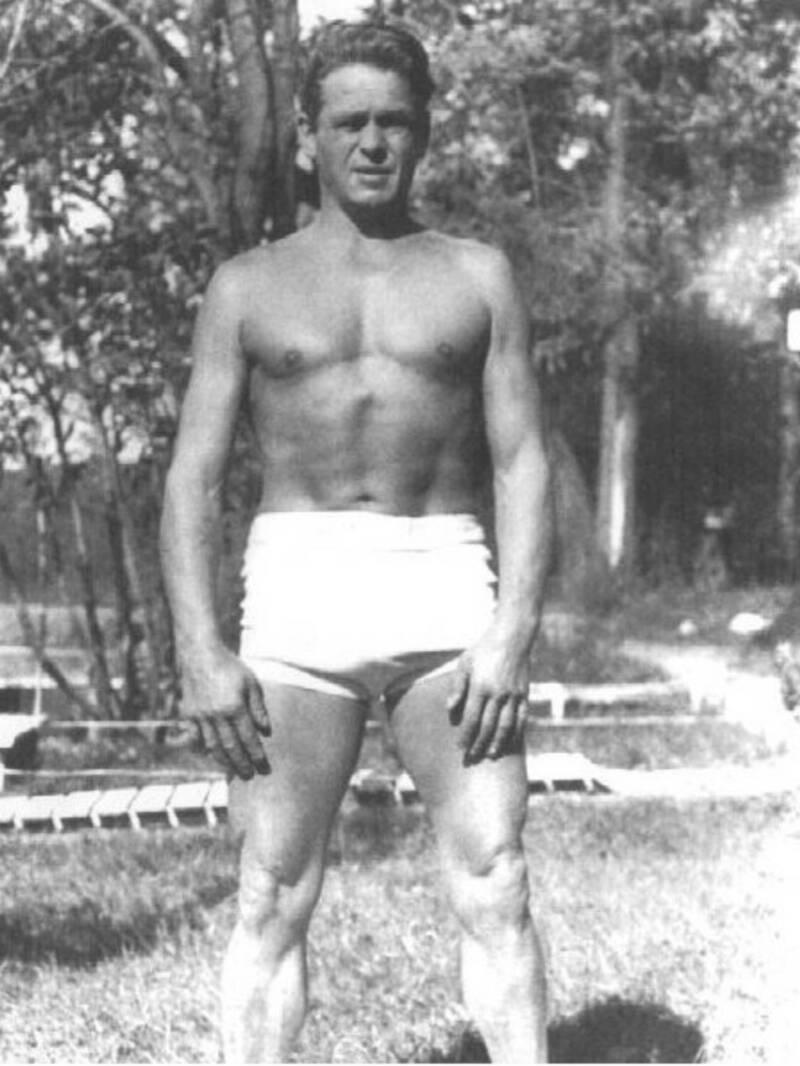 Joe Pilates at 57