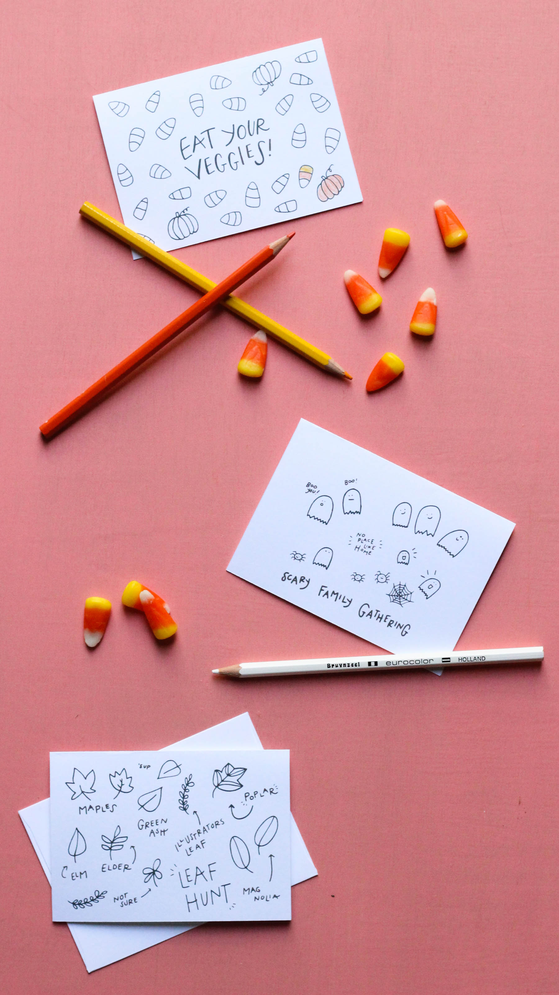 Free Halloween Coloring Pages by Mads Beaulieu