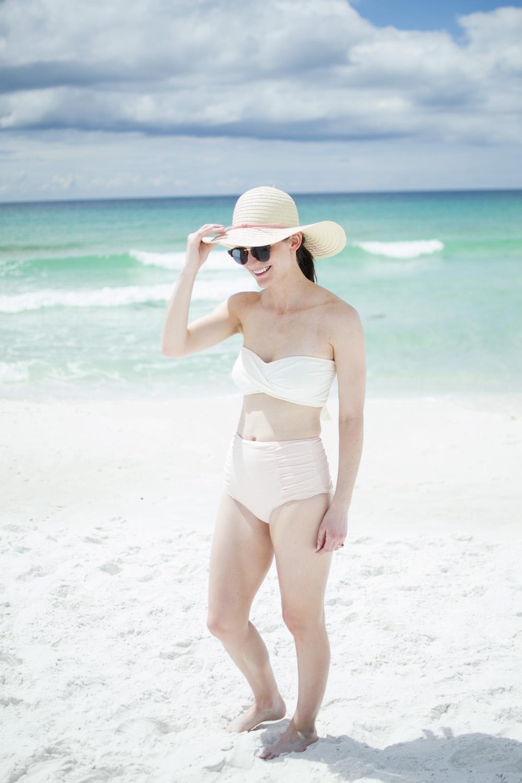 high waisted blush bikini bottom.jpg