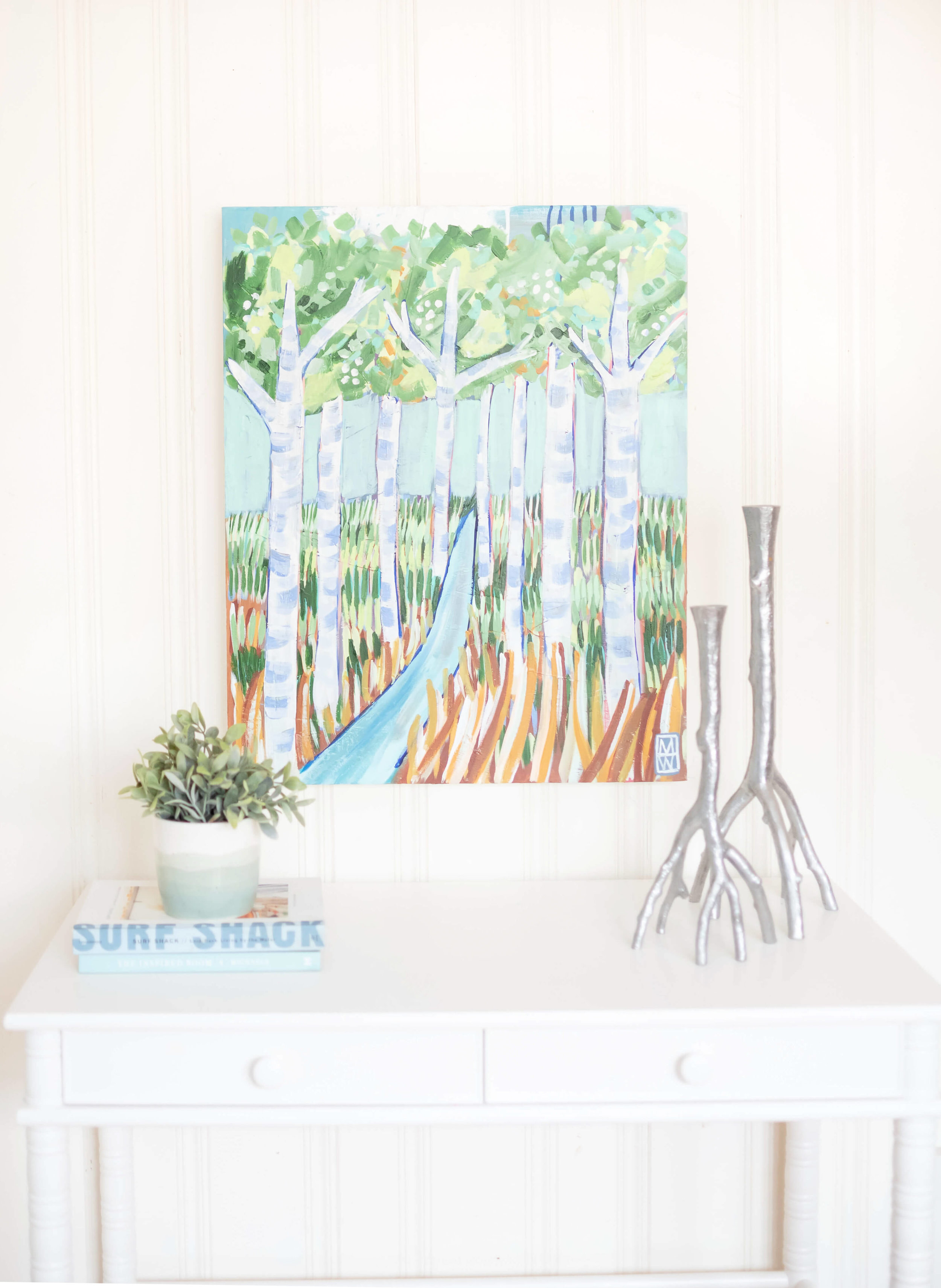 staging art with beadboard or shiplap.jpg