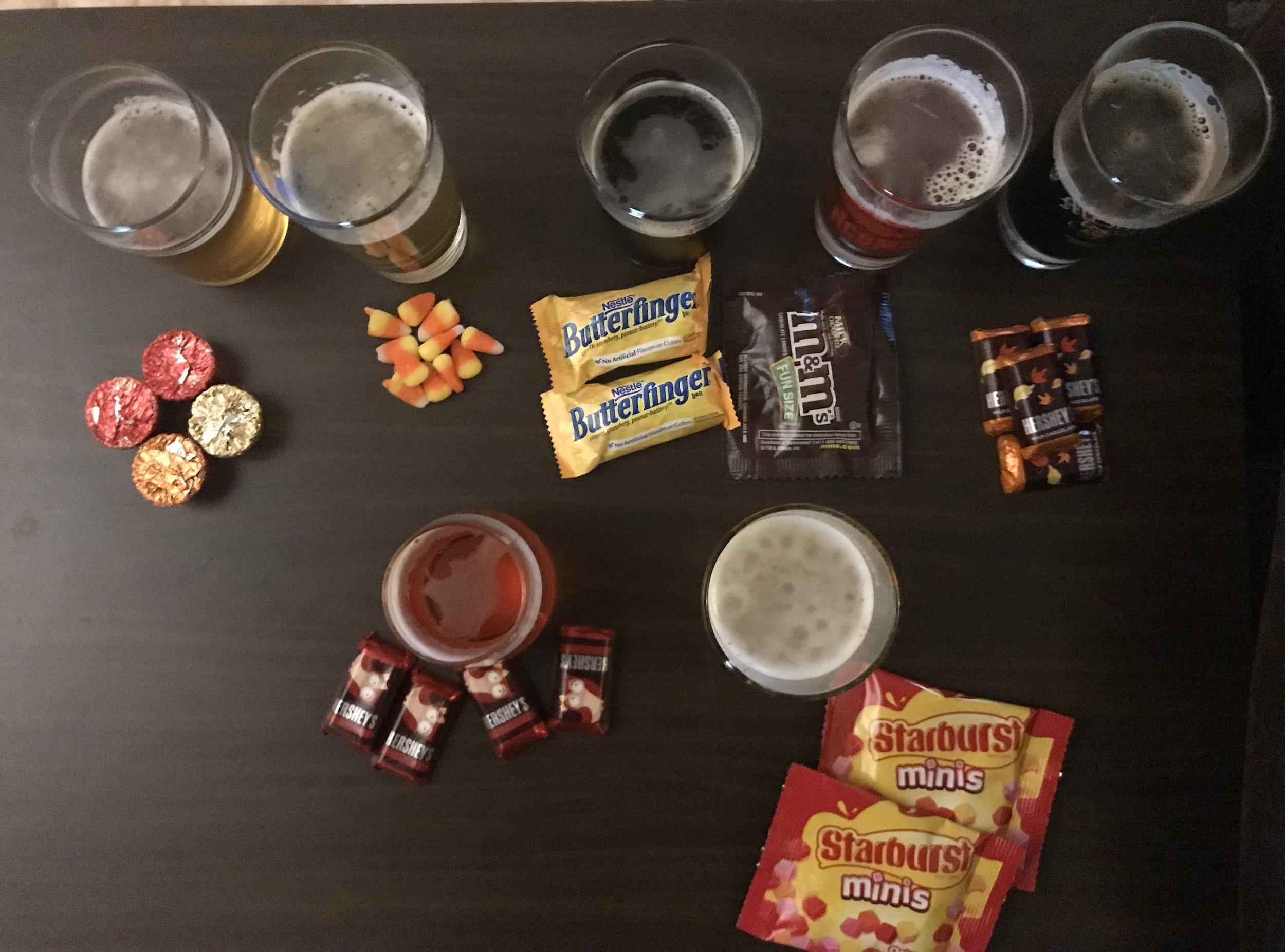 Beer & Candy.UndertheJenfluence
