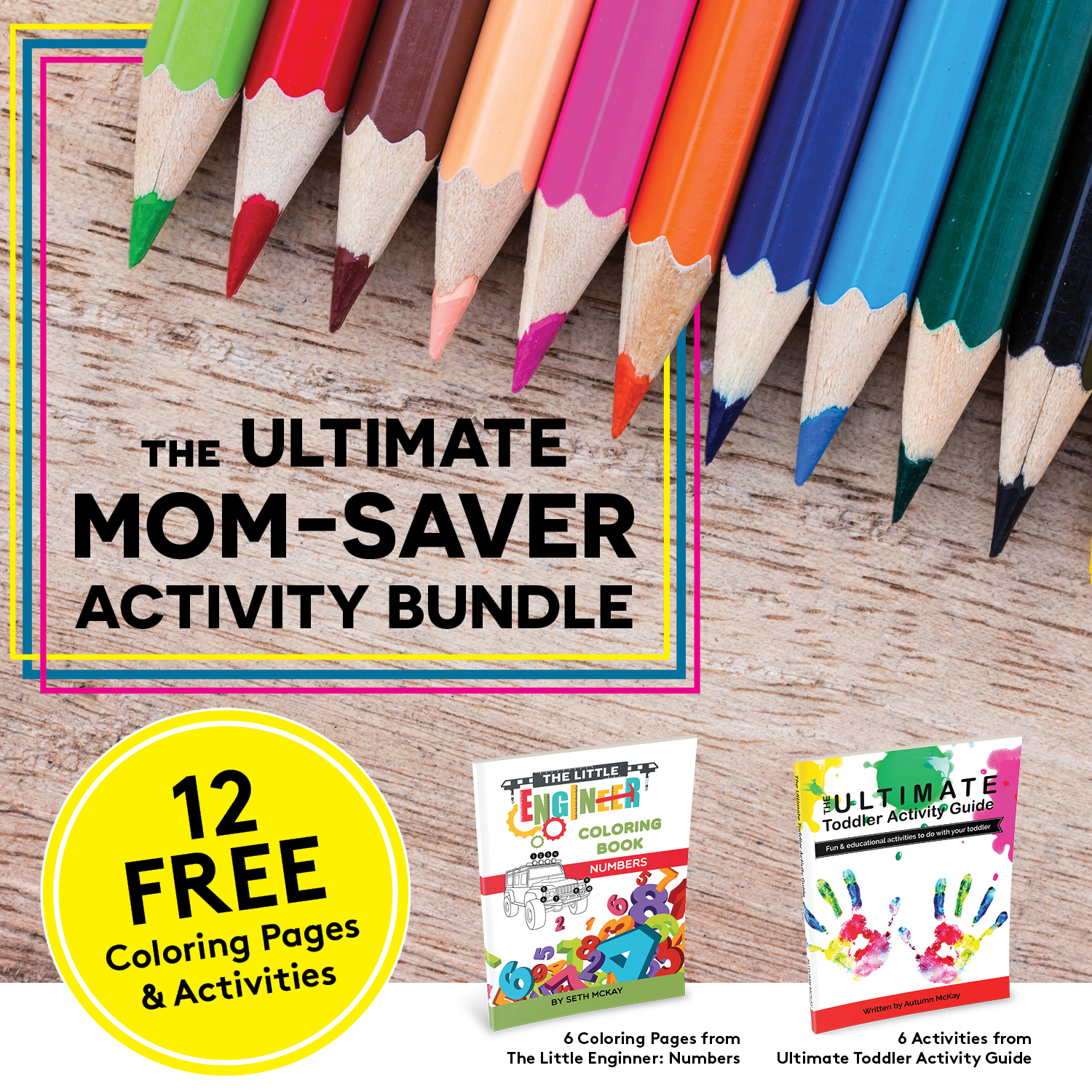FREE Ultimate Mom-Saver Activity Bundle - Get my FREE Ultimate Mom-Saver Activity Bundle for Preschoolers, which includes 6 hands-on activities and 6 special coloring pages that I know your child will love!Hours of fun are waiting for you and your preschooler! Save your sanity and get your free activity bundle today.