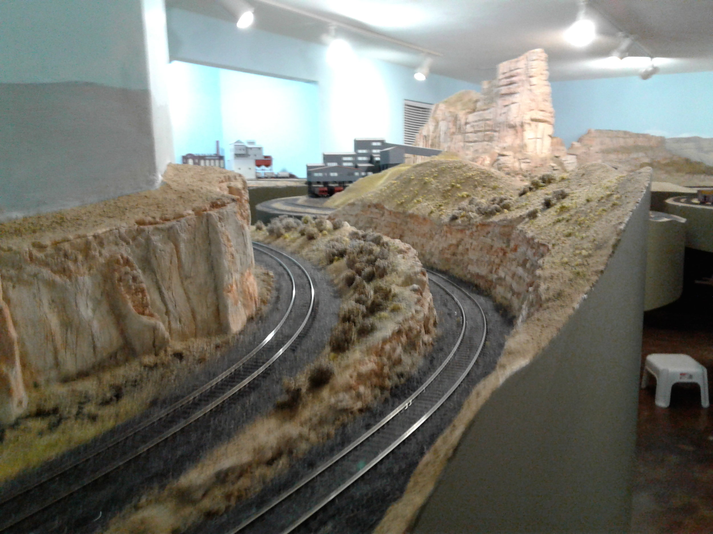 DRGW Mainline through the canyon under Castle Rock
