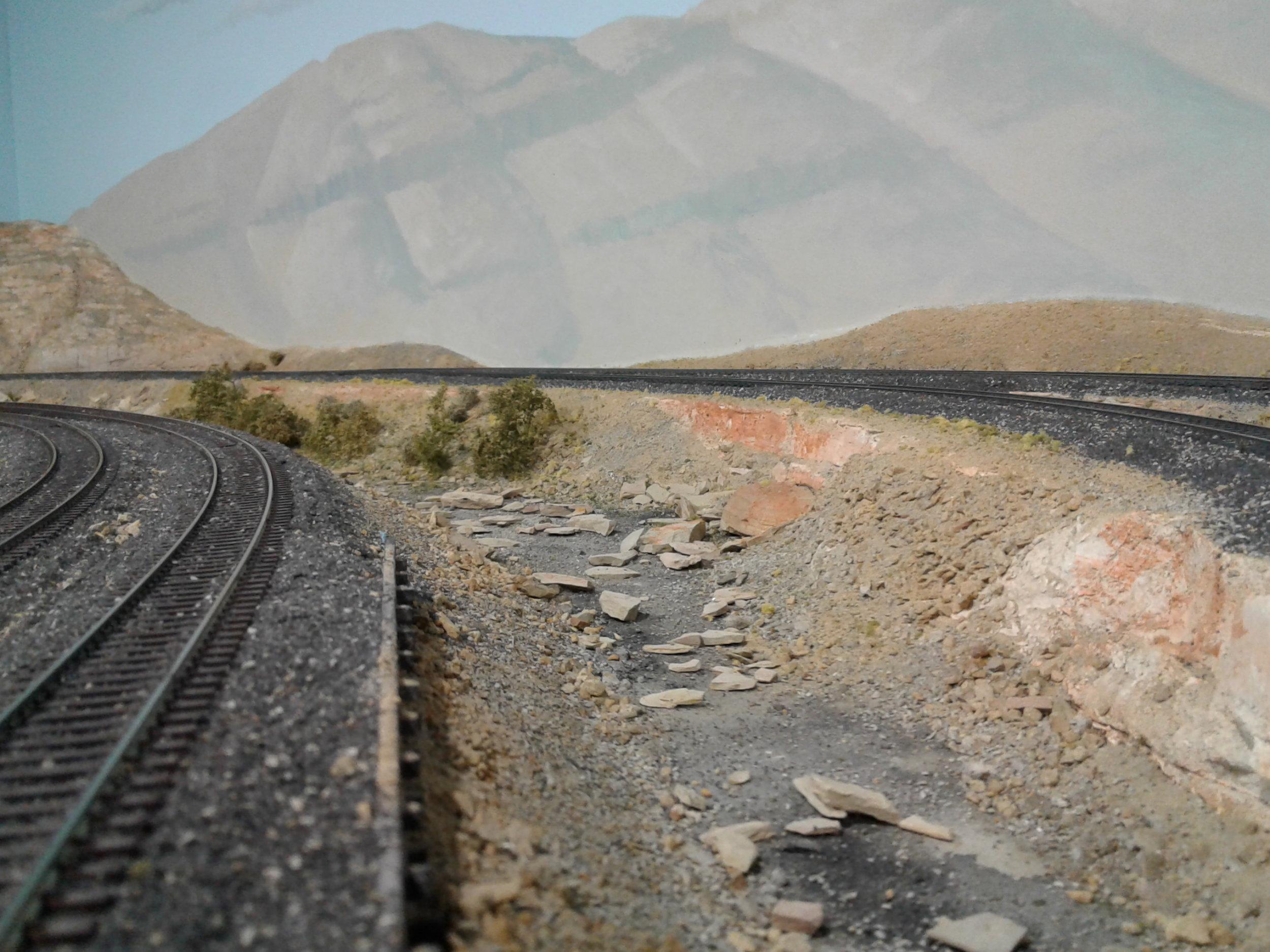 Mainline through eastern Utah