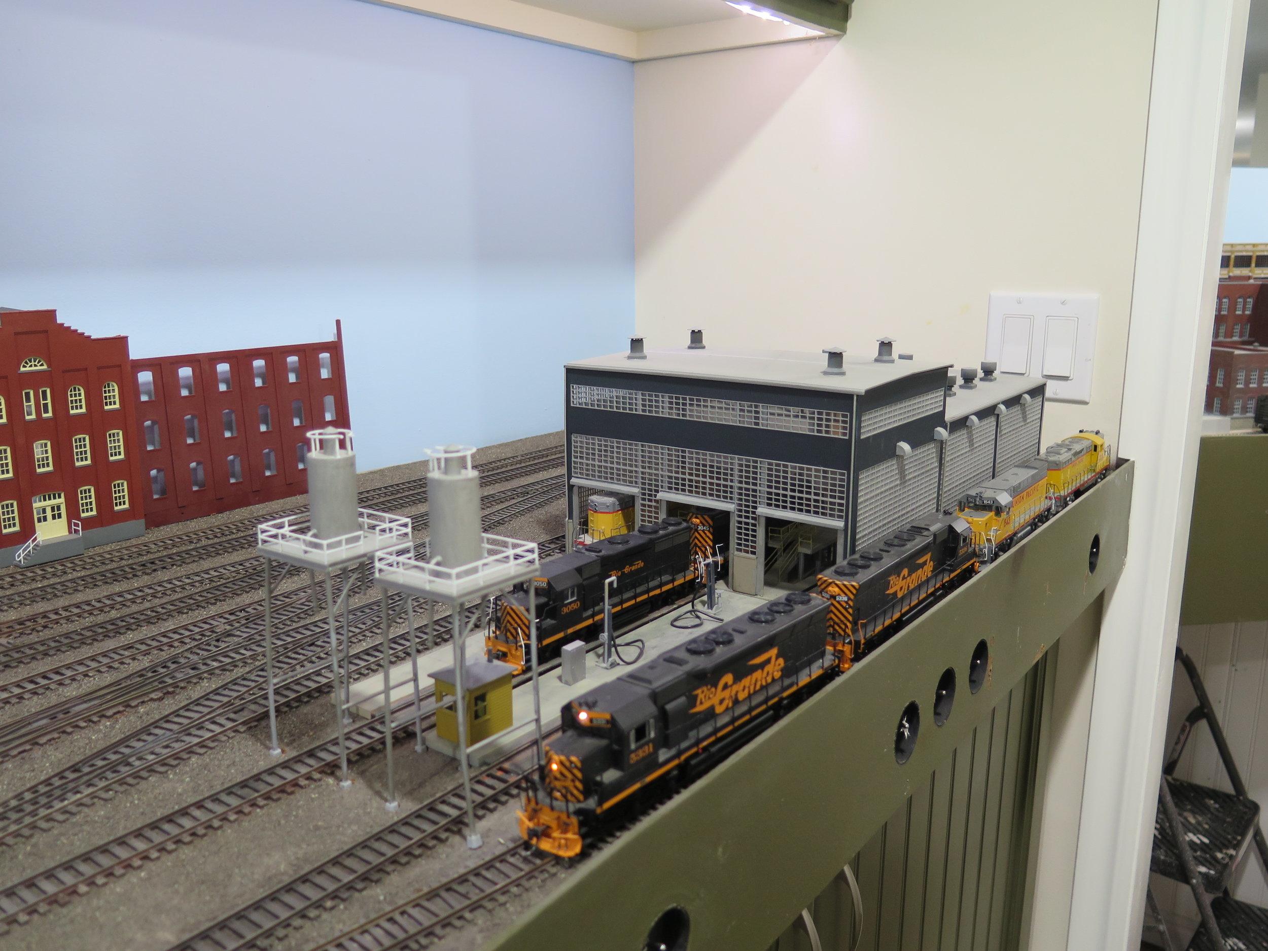DRGW Engine House