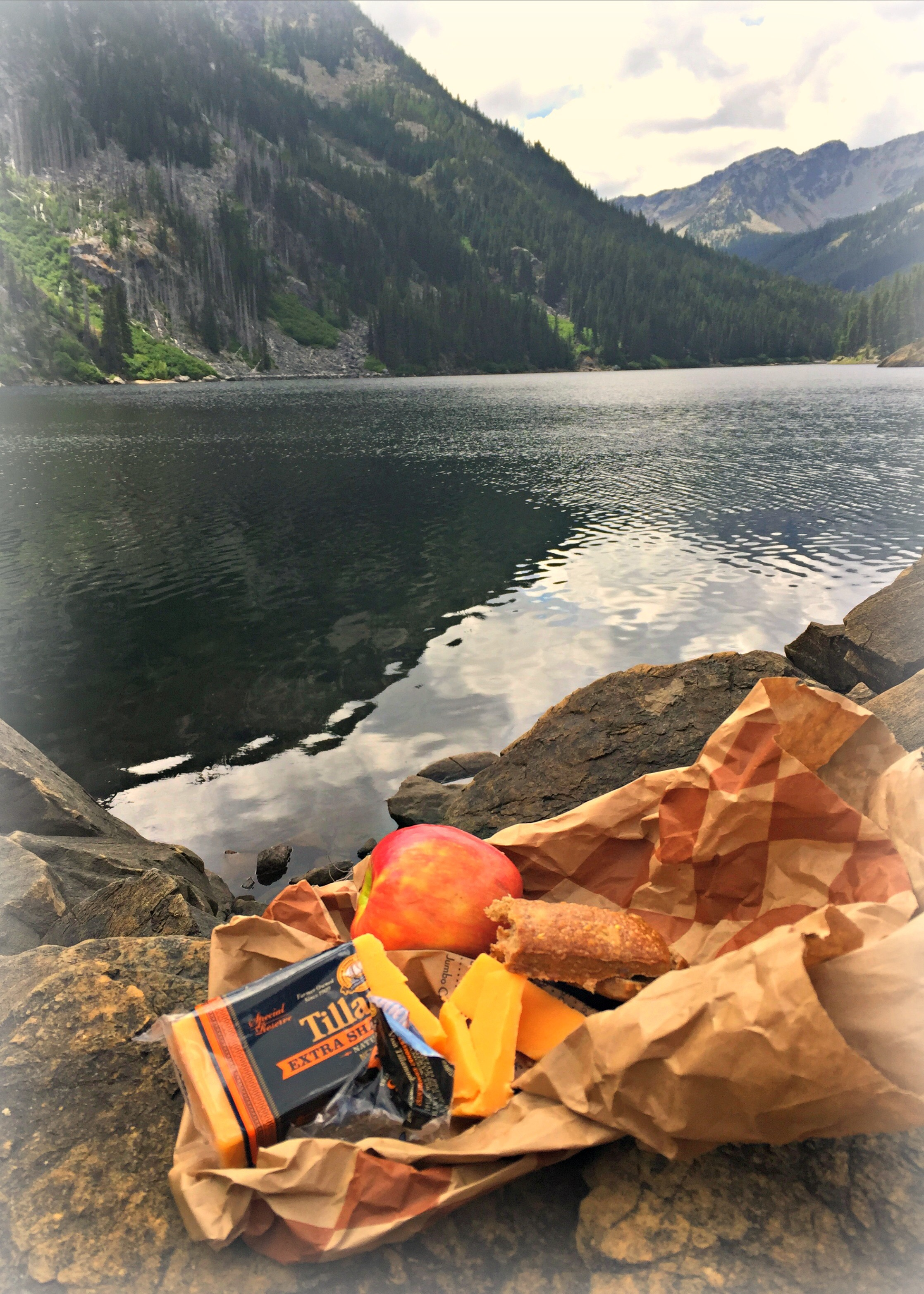 Lunch in the Alpine Lake Wilderness