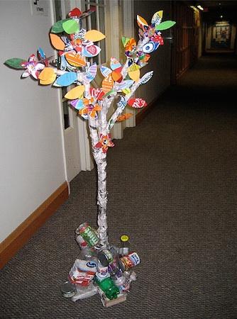 Recycling tree