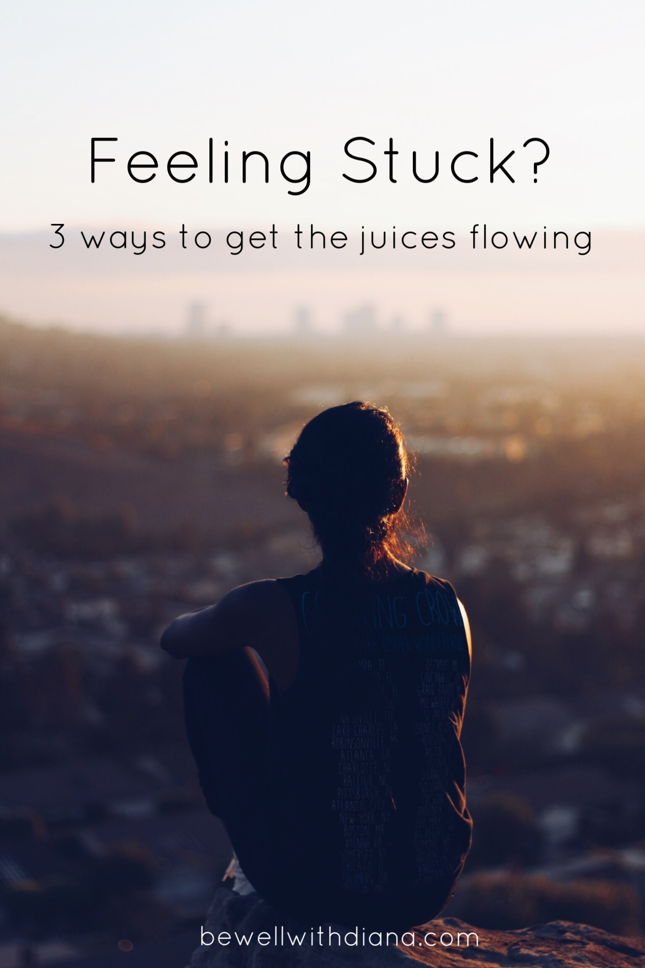 girl with city view - feeling stuck
