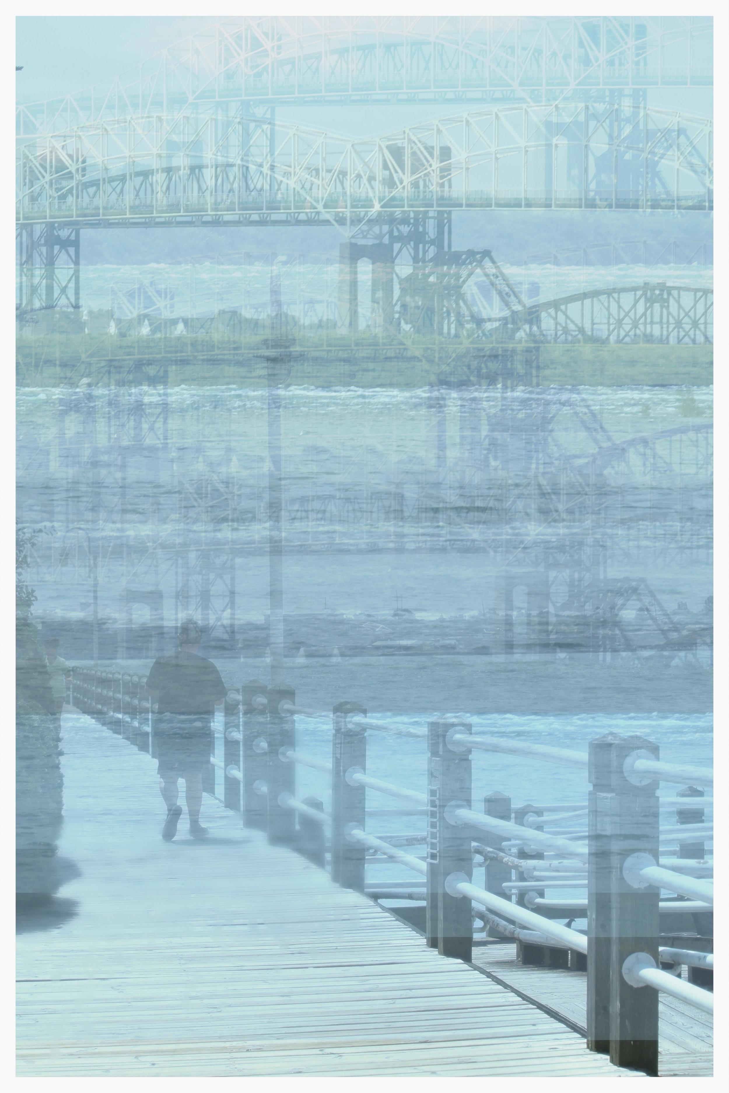 Une balade sur le bord de la rivière Sainte-Marie