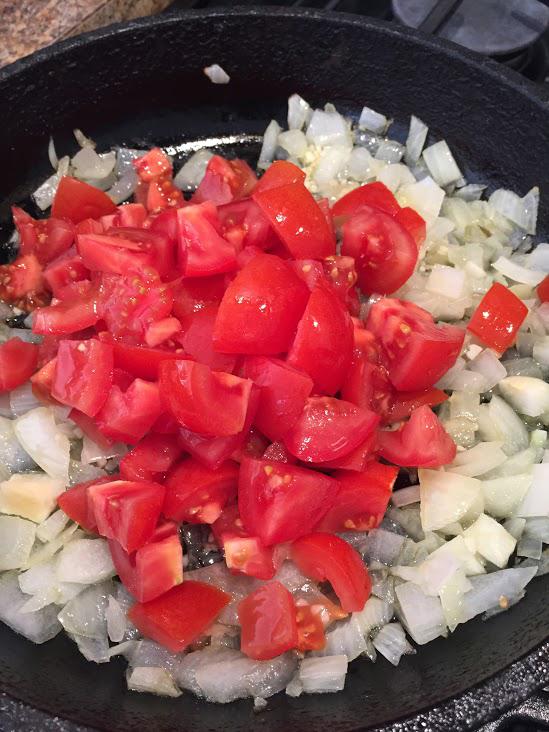 Spaghetti-Squash-Recipe-tomato-onion-garlic-stir-pot-cooking-dinner2.JPG