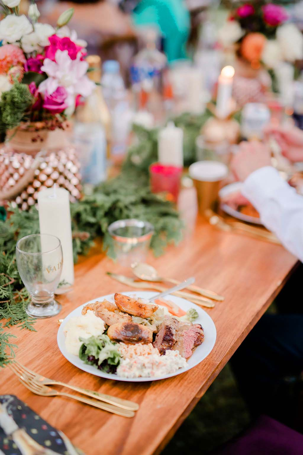 A Chef Husband Caters His Own Wedding